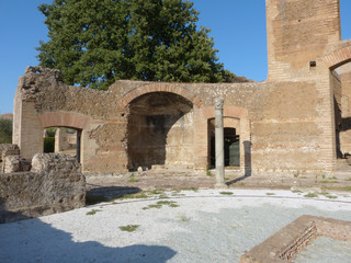 The ancient remains of a Roman city of Lazio - Italy 08