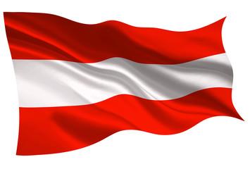 オーストリア  国旗 旗 アイコン