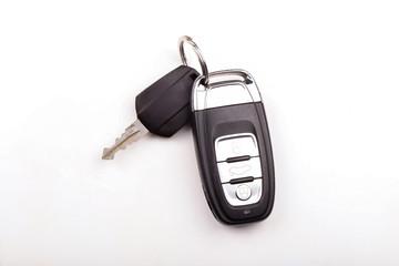 Car key isolated on white background