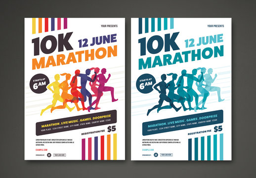 Marathon Flyer Layout