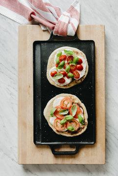 Simple Flatbread Pizzas