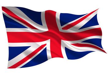 イギリス  国旗 旗 アイコン  Fotoväggar
