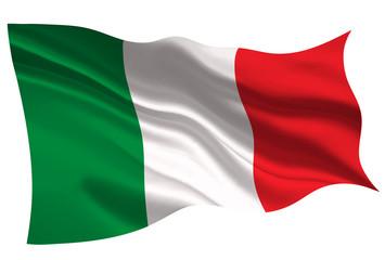 イタリア  国旗 旗 アイコン