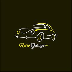 retro car lines