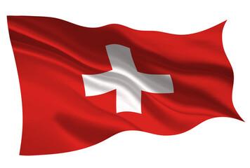 スイス  国旗 旗 アイコン