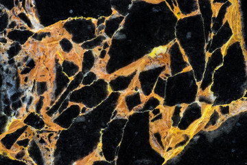 golden black marble pattern high contrast structure