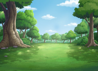 background for jungle and natural at daytime.