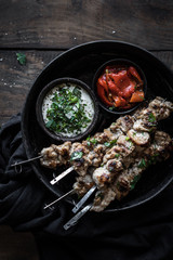 Grilled Indian Chicken Skewers