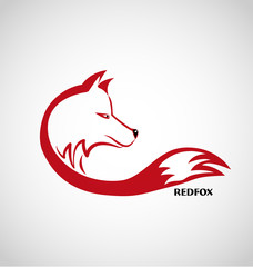 Red fox avatar icon