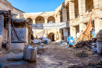 Tannery yard, Fez