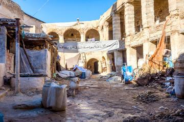 Tannery yard, Fez