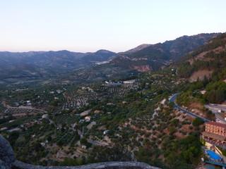 La Iruela en Cazorla, pueblo de Jaen en Andalucia (España)