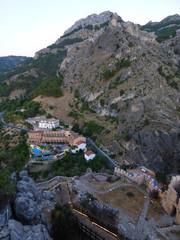 La Iruela, pueblo de Jaén junto a Cazorla en Andalucia (España)