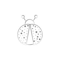 ladybug icon. Web element. Premium quality graphic design. Signs symbols collection, simple icon for websites, web design, mobile app, info graphics