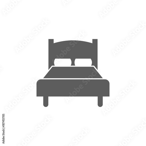 double bed icon. Web element. Premium quality graphic design. Signs ...