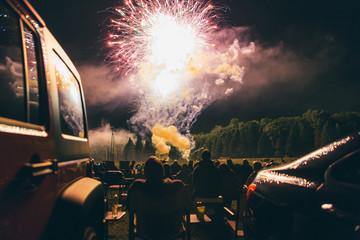 Summer Fireworks in Pennsylvania