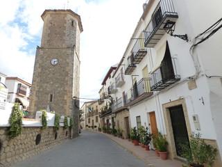 Iznatoraf,pueblo historico de Jaén, Andalucía (España) junto a Villanueva del Arzobispo, en la comarca de las Villas.
