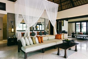 Bright Luxurious Hotel Master Bedroom
