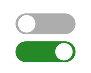 switch icon vector flat design.