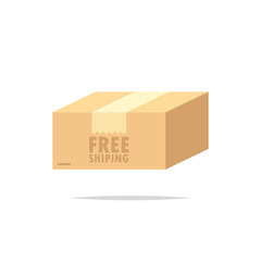 Free shipping package box