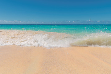 Beautiful Caribbean beach.