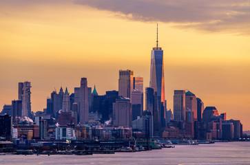 Lower Manhattan Golden Hour