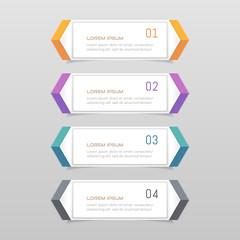 Sticker label colorful set