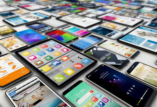 tablets and smartphones