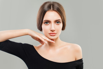 Portrait of Young Woman. Natural Beauty