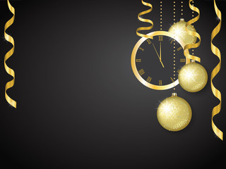 background for a Christmas and New Year greeting card