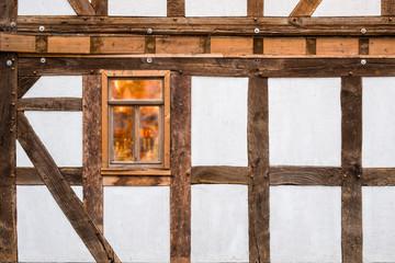 altes Fachwerkaus Traditionell Haus Fassade