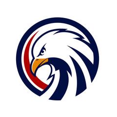 eagle logo vector template