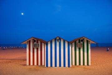 Casetas de playa