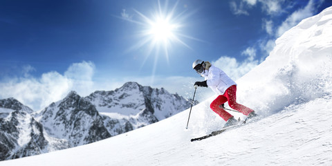 winter skie