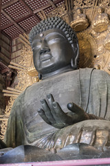 Todai-ji Daibutsu - The Great Buddha at Todai-ji Temple in Nara, Japan