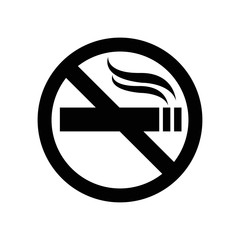 no smoking signal symbol icon