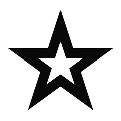 star outline favorite interface symbol