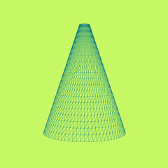 Cone Vector Illustration