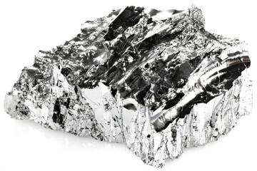 99.99% fine tellurium isolated on white background