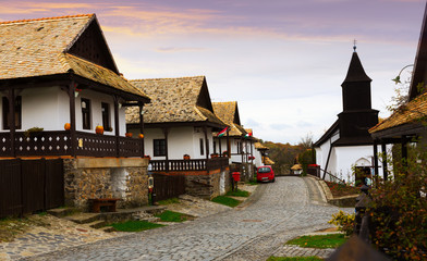 Holloke is traditional village in Hungary