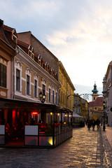 Streets of Gyor, Hungary