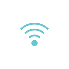 WiFi icon,  on white background, vector.