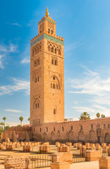 The Koutoubia Mosque, Marrakesh, Morocco