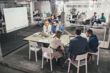 Businesspeople on Meeting