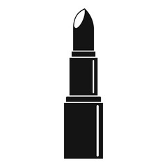Lipstick icon, simple style