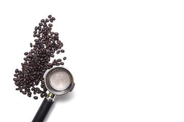 coffee bean and coffee maker