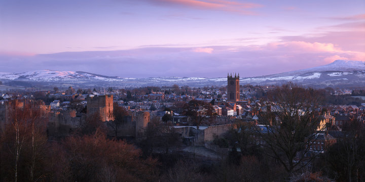 New Years Day, Ludlow, Shropshire