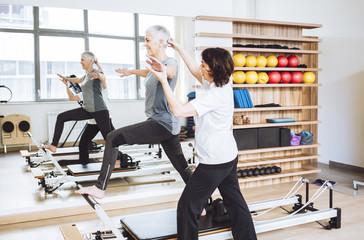 Senior Woman on Fitness Training