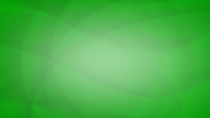 Green waves abstract background
