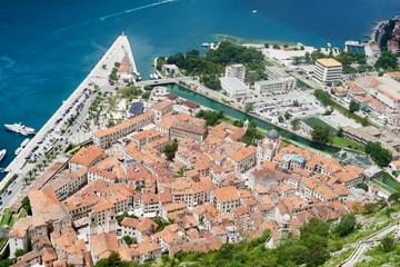 Medieval Balkan town